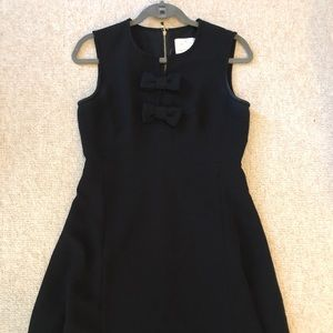 Kate Spade - Black Double Bow Dress.